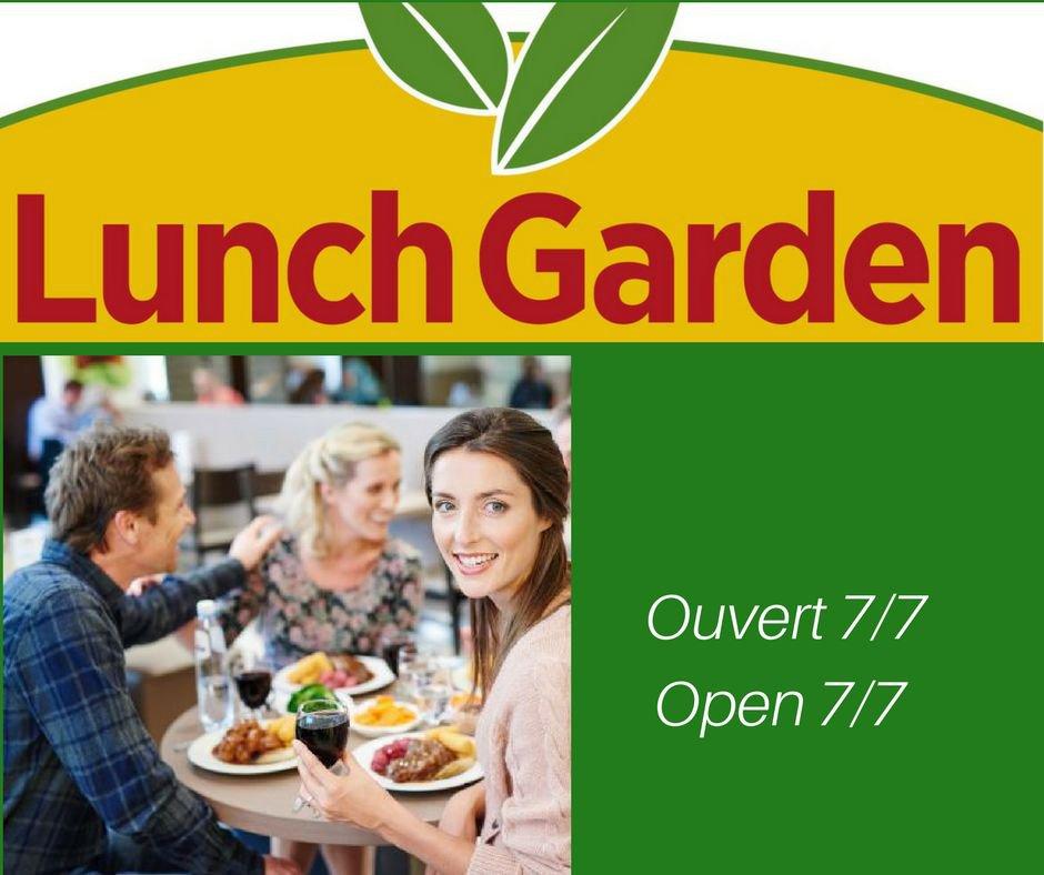 Lunch Garden Evere Belgian Restaurant Evere 1140