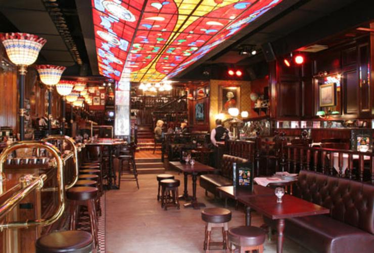 Kết quả hình ảnh cho Antwerp's most authentic brown bar