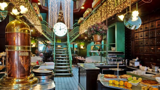 la quincaillerie brasserie restaurant brussels ixelles 1050. Black Bedroom Furniture Sets. Home Design Ideas