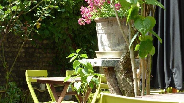 Cote cour cote jardin french restaurant liege 4020 for Restaurant jardin 92