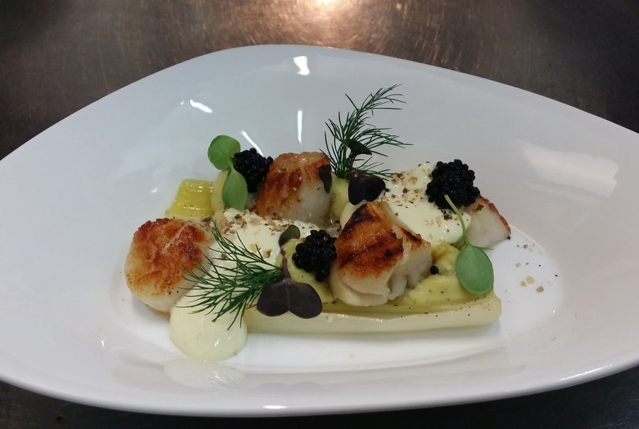 A la fish bar pa lla restaurant poissons mons 7000 for Louisiana fish bar