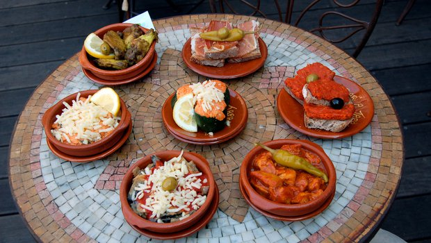 Carte le bar a tapas menu cuisine espagnole tapas - Cuisine espagnole tapas ...