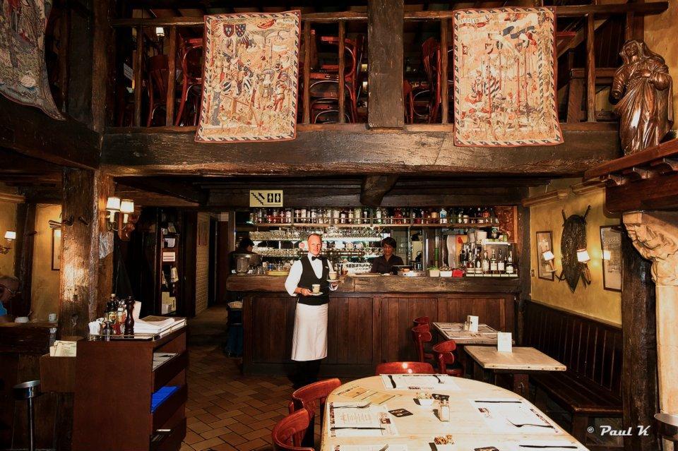La rose blanche restaurant de brasserie bruxelles - Cuisine moleculaire bruxelles ...