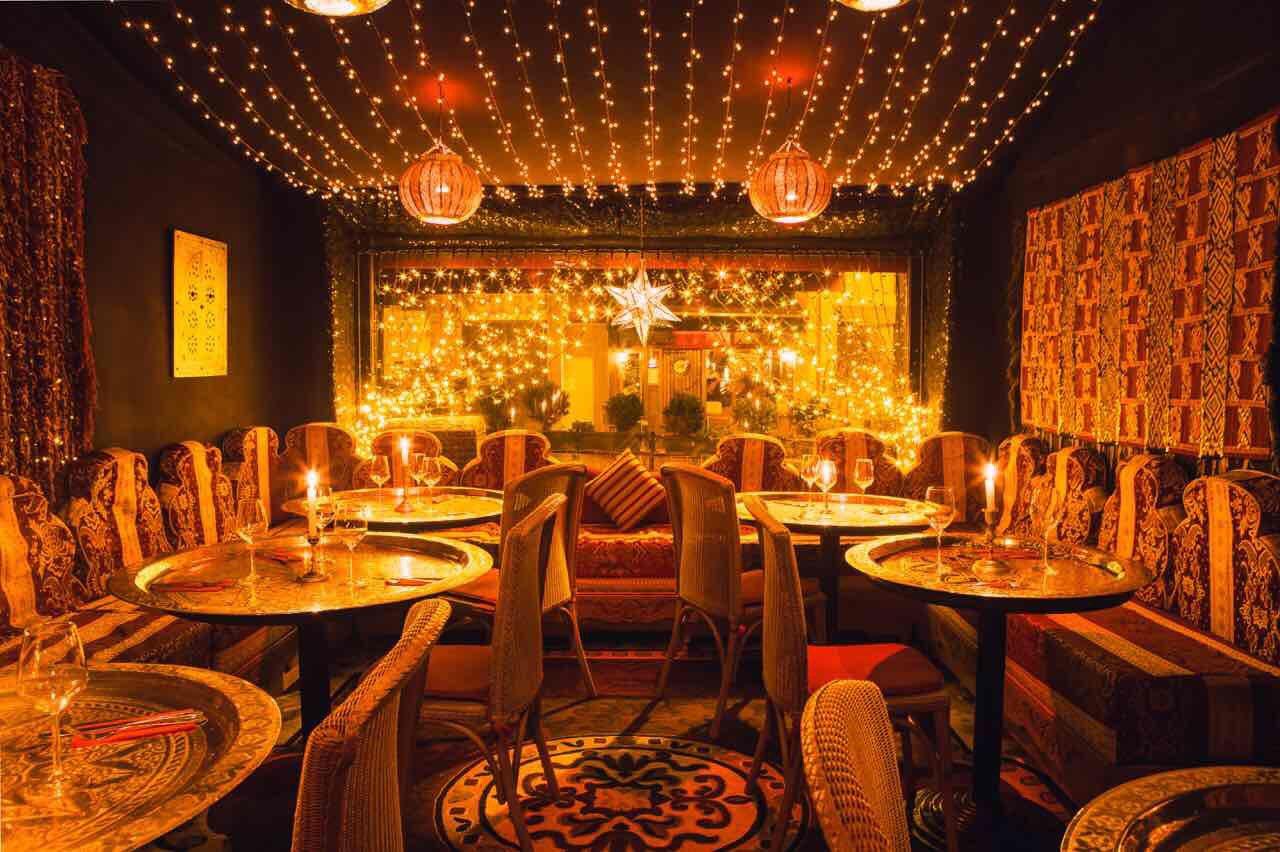 Mille et une nuits restaurant maghr bin saint gilles 1060 for Ambiance cuisine bruxelles