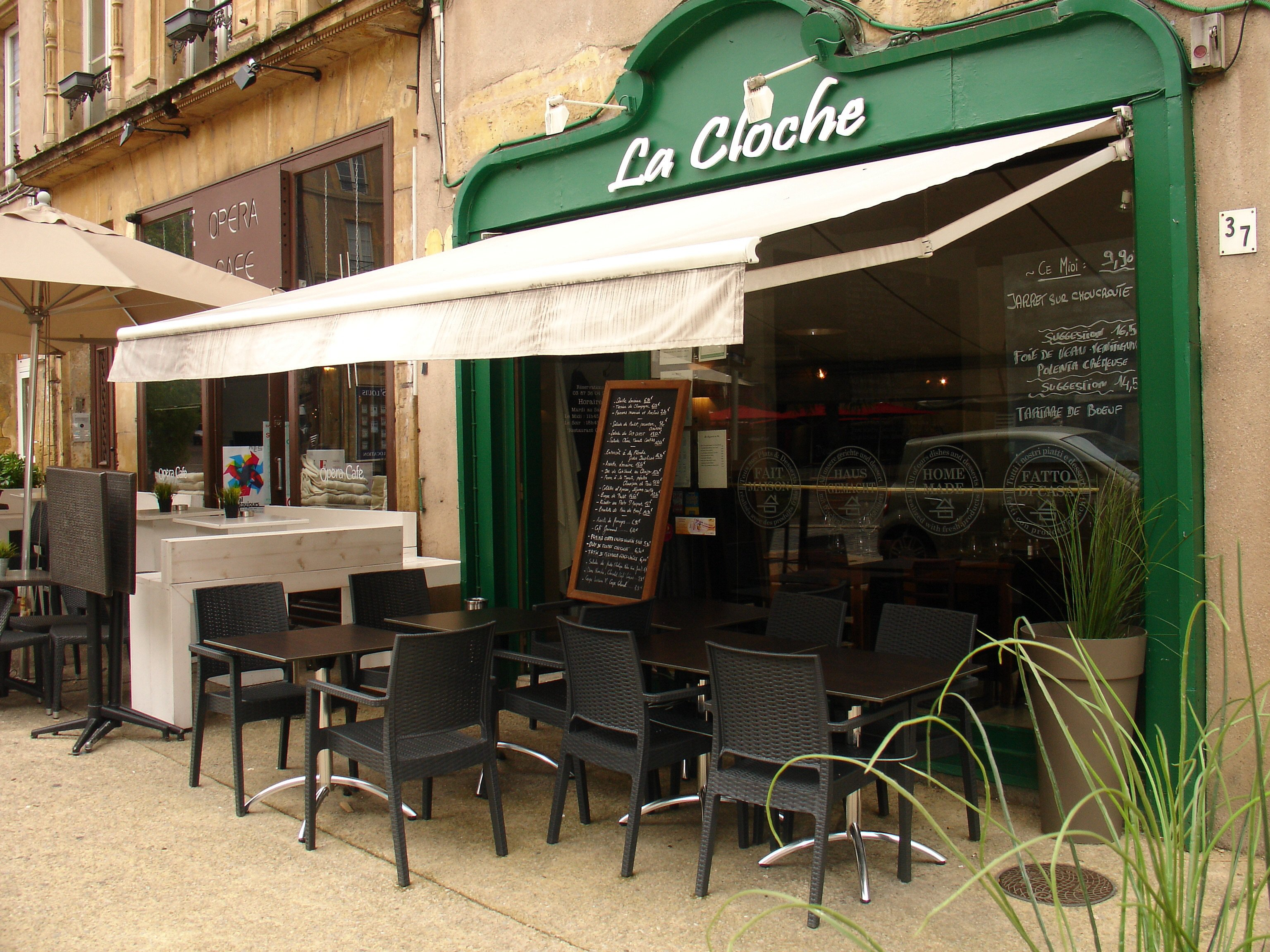 La cloche restaurant traditionnelle metz 57000 for Maison du luxembourg restaurant