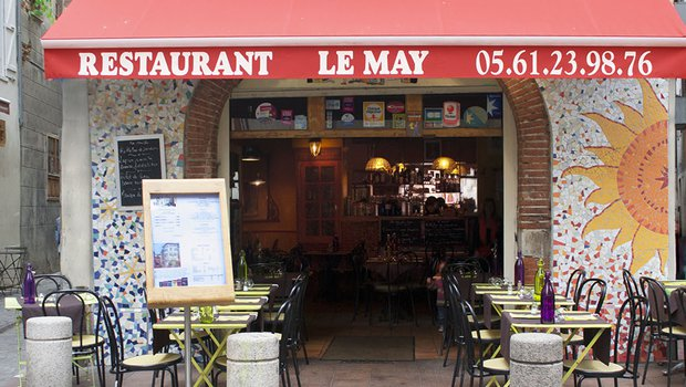 Le may restaurant cr ative toulouse 31000 for Restaurant le miroir toulouse