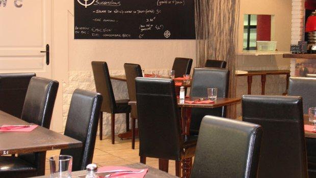 Carte LES TONTONS FLINGUEURS - Menu Cuisine Pierrade ...